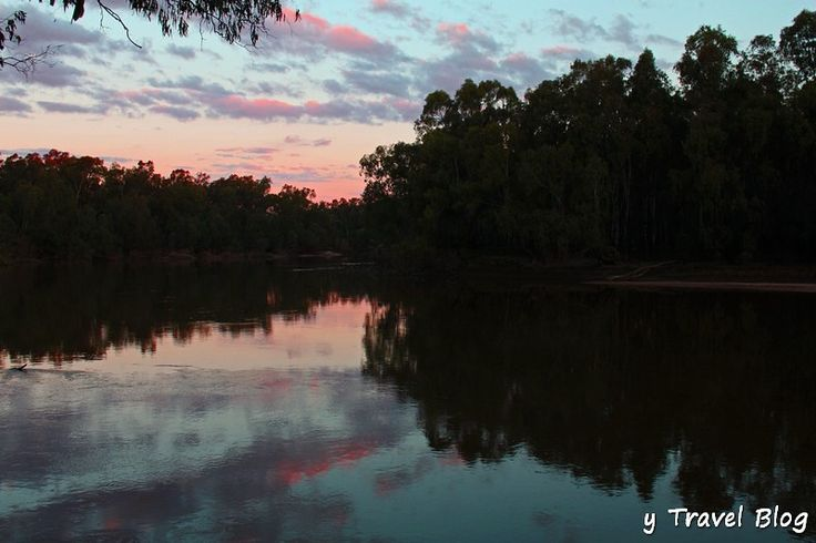 sunset on the Murrumbidgee River in the River Red Gum National Park NSW Australia: Nsw Australia, Gum National, Riverina Experiment, Parks Nsw, Murrumbidge Rivers, National Parks, Rivers Red, Red Gum, Things Travel