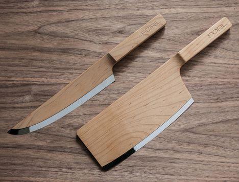FDRLs Wooden Kitchen Knives