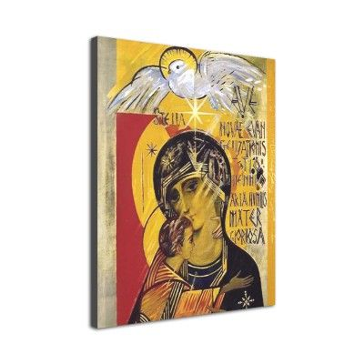 Icono 'Virgen del Tercer Milenio' (Lienzo)