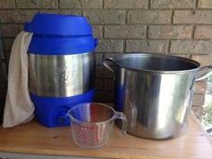 Simple 3-gallon all-grain brewing. Easy and affordable entry into all-grain brewing. Equipment can be used for 5-gallon partial mash brews, too.