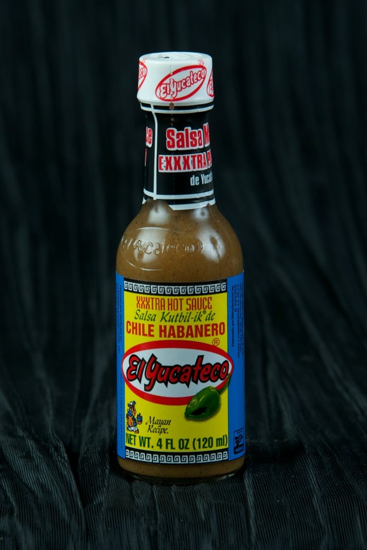 El Yucateco XXXXTRA Hot Kutbil Chile Habanero Hot Sauce - can't wait to add this to the collection