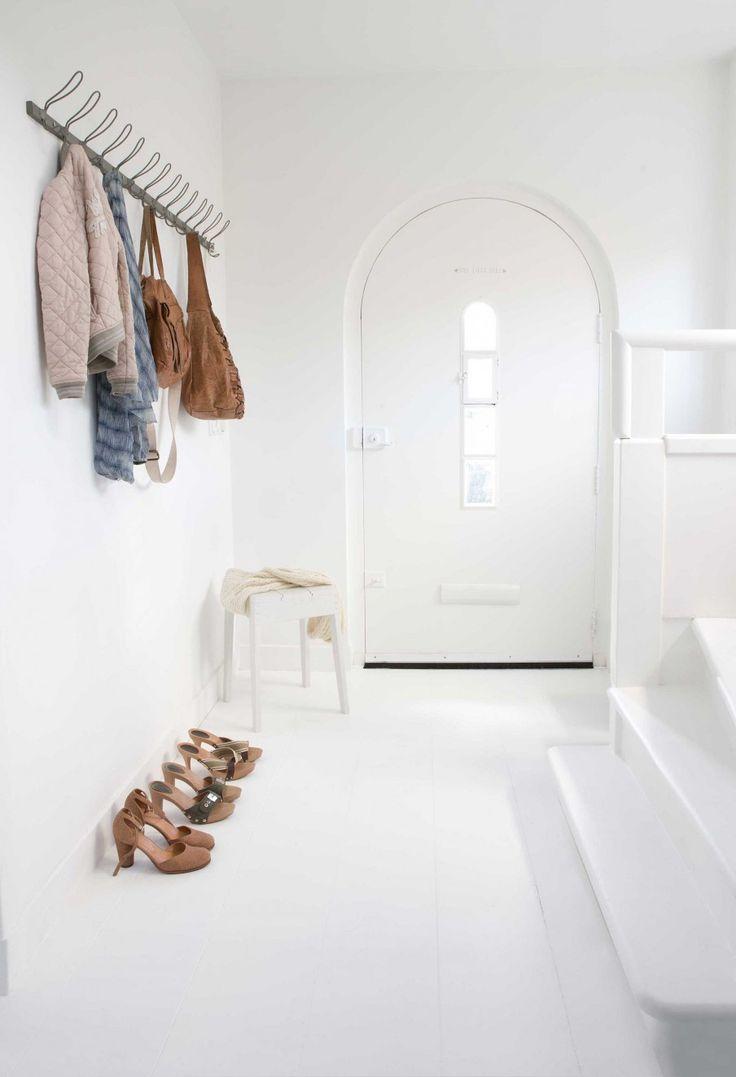 entryway clothes rack