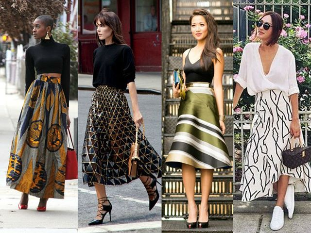 WEBSTA @ santteestilo - #SantteFashionÀs vezes, uma única peça pode ser a estrela de todo o seu look. Essas saias incríveis são…