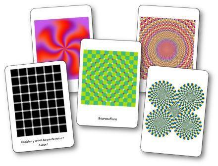 20 trompe-l'œil et illusions d'optique à imprimer