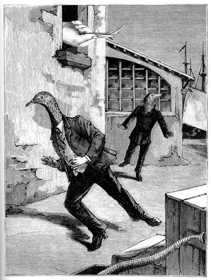 """Max Ernst """"Une Semaine de Bonté"""", 1933."""