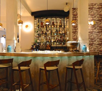 Istr has one euros oysters for happy hour! (And a hip, modern decor)