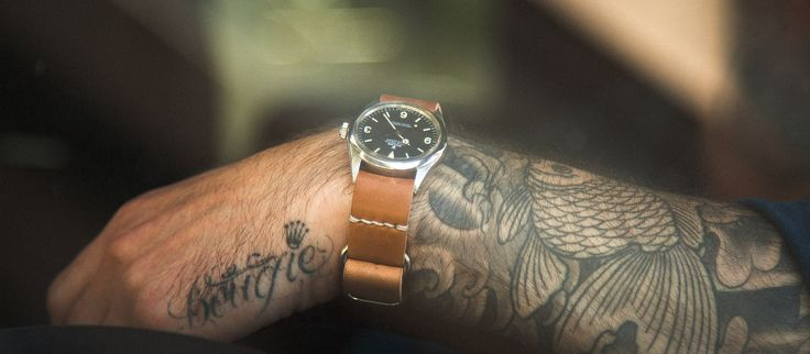 Single Pass Watch Strap | Tanner Goods