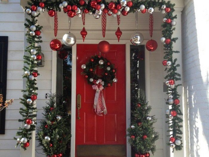 I Love The Idea Of Hanging Ornaments Over The Door, Youu0027d Just Have