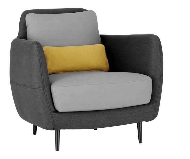 Mer enn 25 bra ideer om fauteuil gris p pinterest canap et fauteuil faut - Fauteuil potiron soldes ...