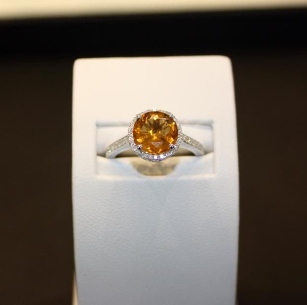 428 best images about unique engagement rings on pinterest for Amber stone wedding ring