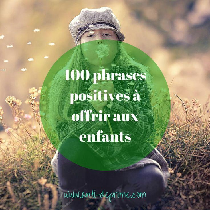Je suis convaincu que les affirmations positives influencent notre vie car elles orientent notre attention et nos actions.    J'ai donc adapté des expressions issues des préceptes de la psychologie positive, du développement personnel,de la parentalité positive