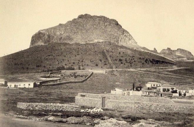 Σπάνιες φωτογραφίες από μια Αθήνα που δεν υπάρχει πια-Λυκαβηττός, 1864