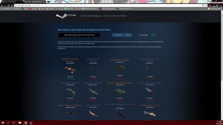 Gyazo - Free CS:GO Skins! - Google Chrome