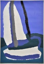 Not titled (Sailing boat), Patrick Francis, 2014