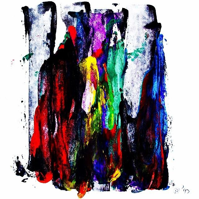 """Sensitive colorful"" Acrylic on paper. Black-Hard Artstudio @blackhardartstudio Instagram photos | Webstagram"