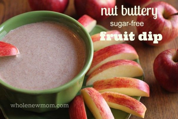 This Nut Butter Fruit Dip is a great sugar-free and dairy-free dessert. It's a super easy recipe and you can use it as an apple dip, a drizzle for pancakes, etc., an ice cream sauce, or even eat it straight off the spoon :)!