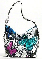 Coach Butterfly Purse   ... statement: Coach Signature Carly Butterfly Charm Handbag Purse Tote