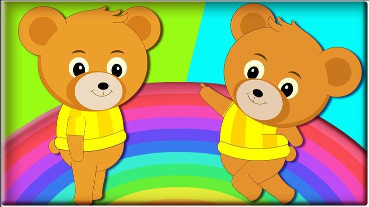 Teddy Bear Teddy Bear Turn Around | Nursery Rhymes Collection | Cute Son...