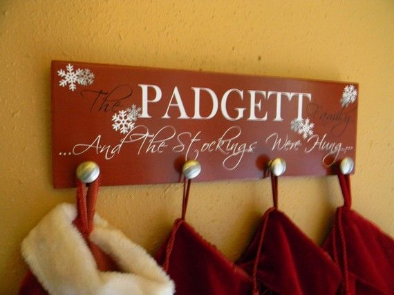 I'm definitely in the holiday mood... despite the ninety degree weather :)   No fireplace = time to be creative!
