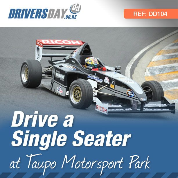 From $325, driving a Single Seater Race Car at Taupo Motorsport Park is a great gift for men or women. The astonishing Formula Challenge is a purpose built slicks and wings single-seater. It features a race developed Suzuki GSXR 1100 engine that produces 110kw at 6800 rpm and reaches 0-100kph in 3.4 seconds.