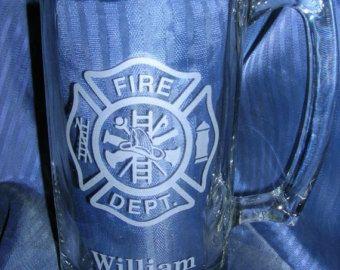 Etched beer mug engraved beer mug etched glass mug engraved