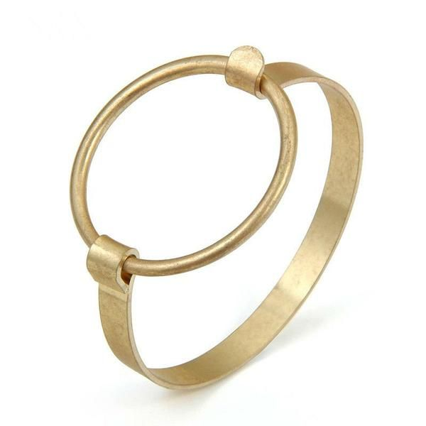 FREE! Simple and elegant copper bracelet!!   YOU ONLY HAVE TO PAY FOR SHIPPING.  Offers apply while stocks last get yours now! https://goodfeelingstuff.com/collections/bracelets/products/2016-hoge-kwaliteit-gold-manchet-armband-eenvoudige-punk-stijl-grote-ronde-koper-arm-bangle-mannen-vrouwen-liefde-bangle-sieraden