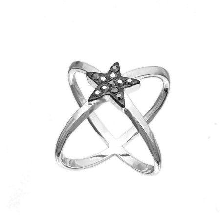 Anello Cross Star