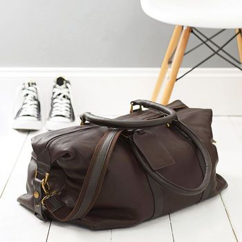 Anthony Handmade Leather Weekend Holdall