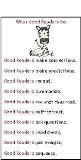 Teacher's Take-Out: What Good Readers Do- Bookmarks - Freebie