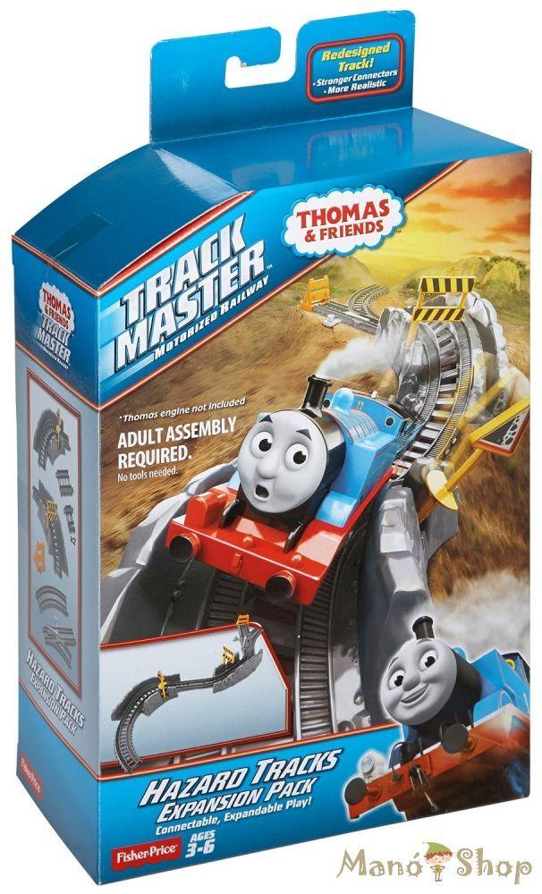 Thomas Track Master Veszélyes pálya kiegészítő csomag (CDB66)