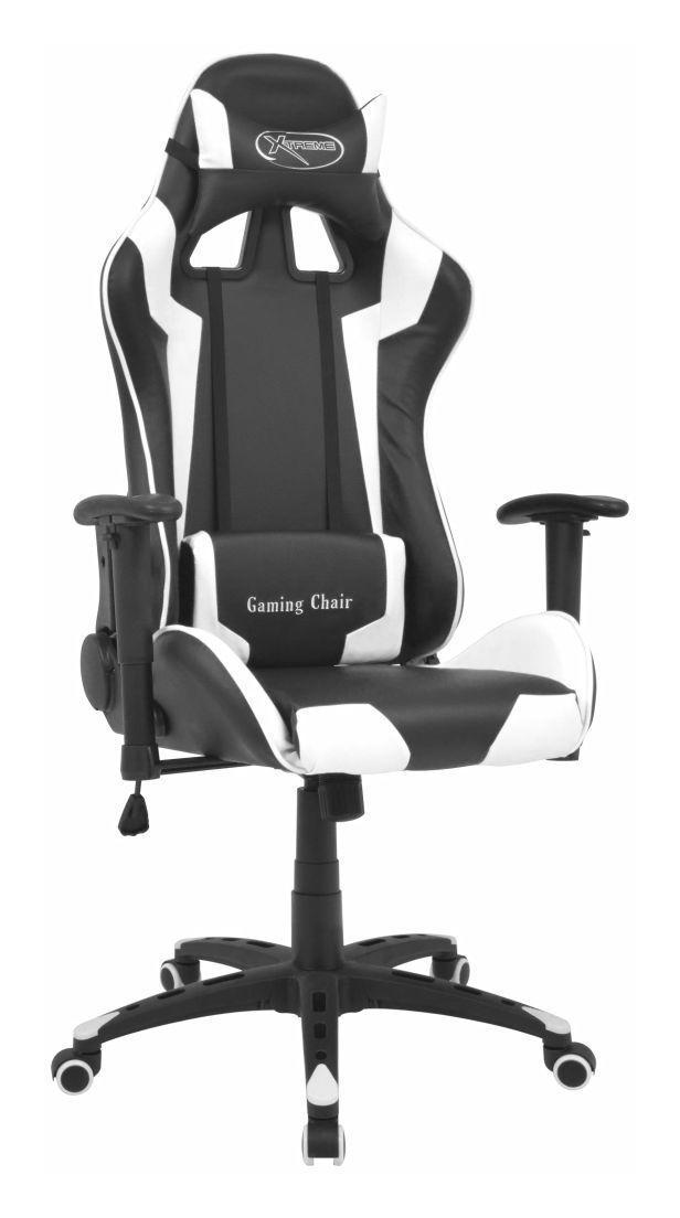 Vidaxl Chaise De Bureau Inclinable Cuir Artificiel Blanc In 2020 Interior Bureaus Chair