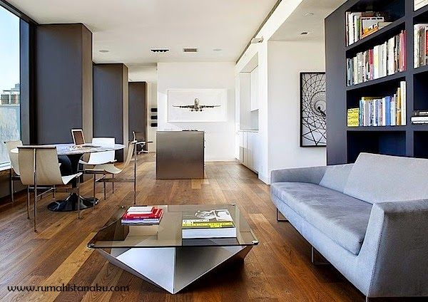 Desain Apartemen Minimalis type 60