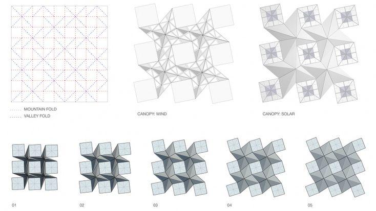 Folded Roof Grasshopper Defination Tiling Gif Find Share