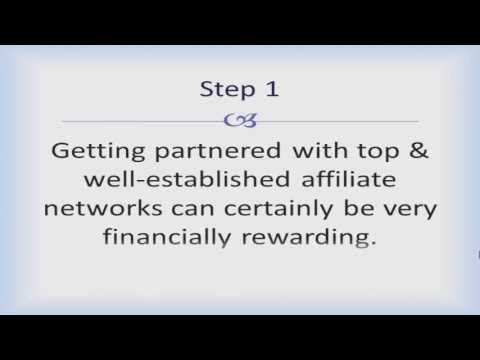 Steps to Begin with Affiliate Marketing.