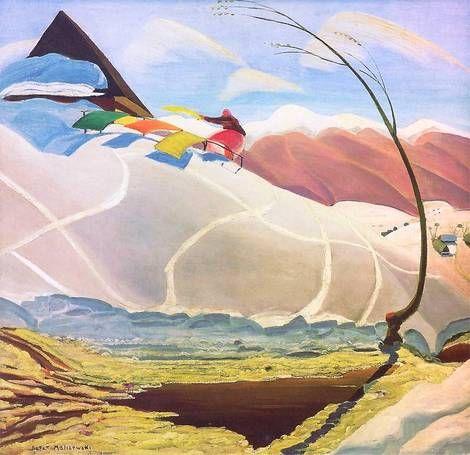 Rafał Malczewski, Mountain wind / Wiatr gorski on ArtStack #rafal-malczewski-1…