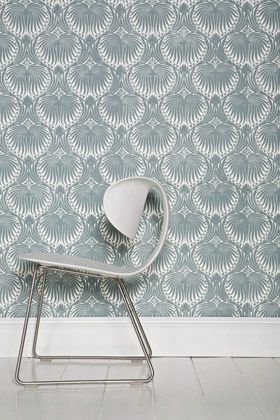 Farrow and Ball wallpaper, for the bathrooms?