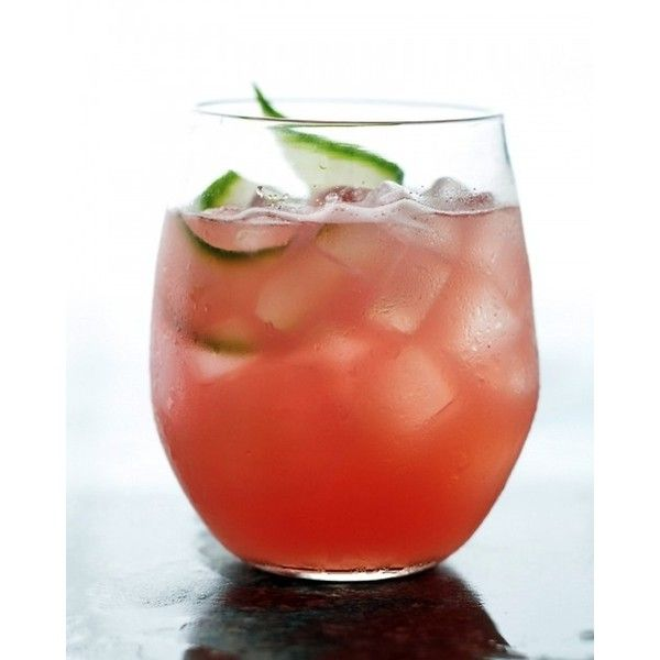 Watermelon-Cucumber Cooler found on Polyvore