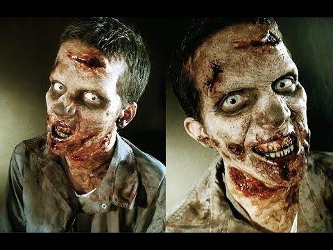Zombie Make-Up Tutorial mit Y-Titty und Chiara Nero - YouTube