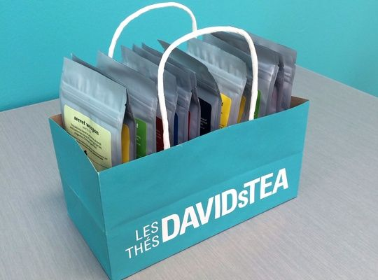 Looking for an easy way to store your bags of tea? Look no further.