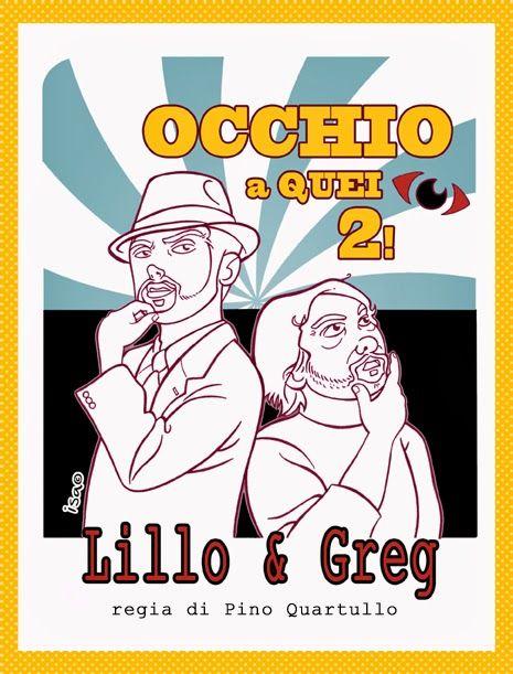 ISACOMICS: Lillo&Greg, vignetta per SUL PALCO