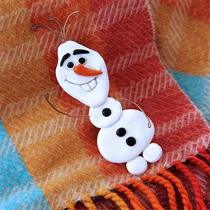 Olaf Pin Badge