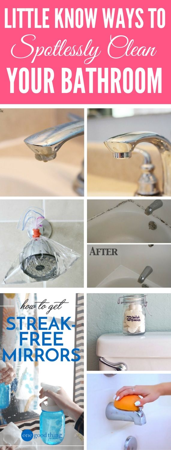 Best ways to clean a bathroom - 9 Shocking Bathroom Cleaning Tips Proven By Pros