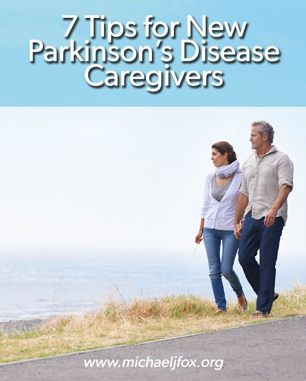 Has your loved one recently been diagnosed with Parkinson's disease? Read these 7 tips for new caregivers.