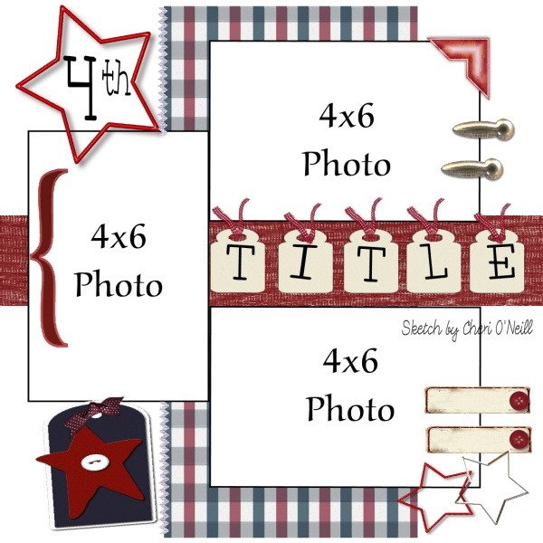 sketch - I'll have to use it on a page: Scrapbook Ideas, Photos Scrapbook, Layout Ideas, Pictures Layout, Scrapbook Layout Sketch, Scrapbook Layout Birthday, Photos Layout, Scrapbook Sketch, Scrapbook Layoutsidea