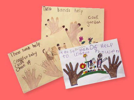 Build self-esteem with this awesome helping hands craft for kids!
