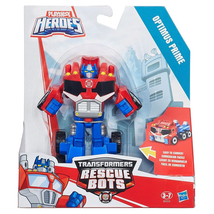 """Playskool #heroes transformers rescue bots - #optimus prime to #truck 5"""" figure , View more on the LINK: http://www.zeppy.io/product/gb/2/272417052509/"""