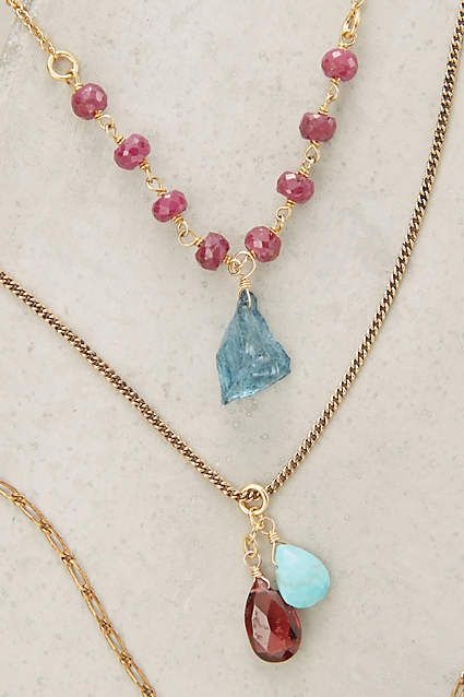 Petronille Layered Necklace - anthropologie.com