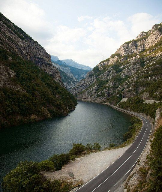 Road from Mostar to Sarajevo