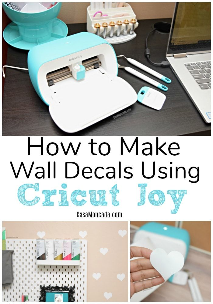 How To Make Wall Decals Using Cricut Joy In 2020 Cricut Cricut Projects Vinyl Joy Cards