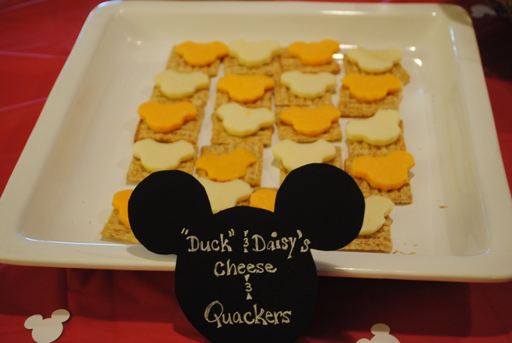 "Mickey Mouse Clubhouse food-my son calls Donald just ""duck"""